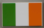 Ireland Country Flag Soft PVC Fridge Magnet.